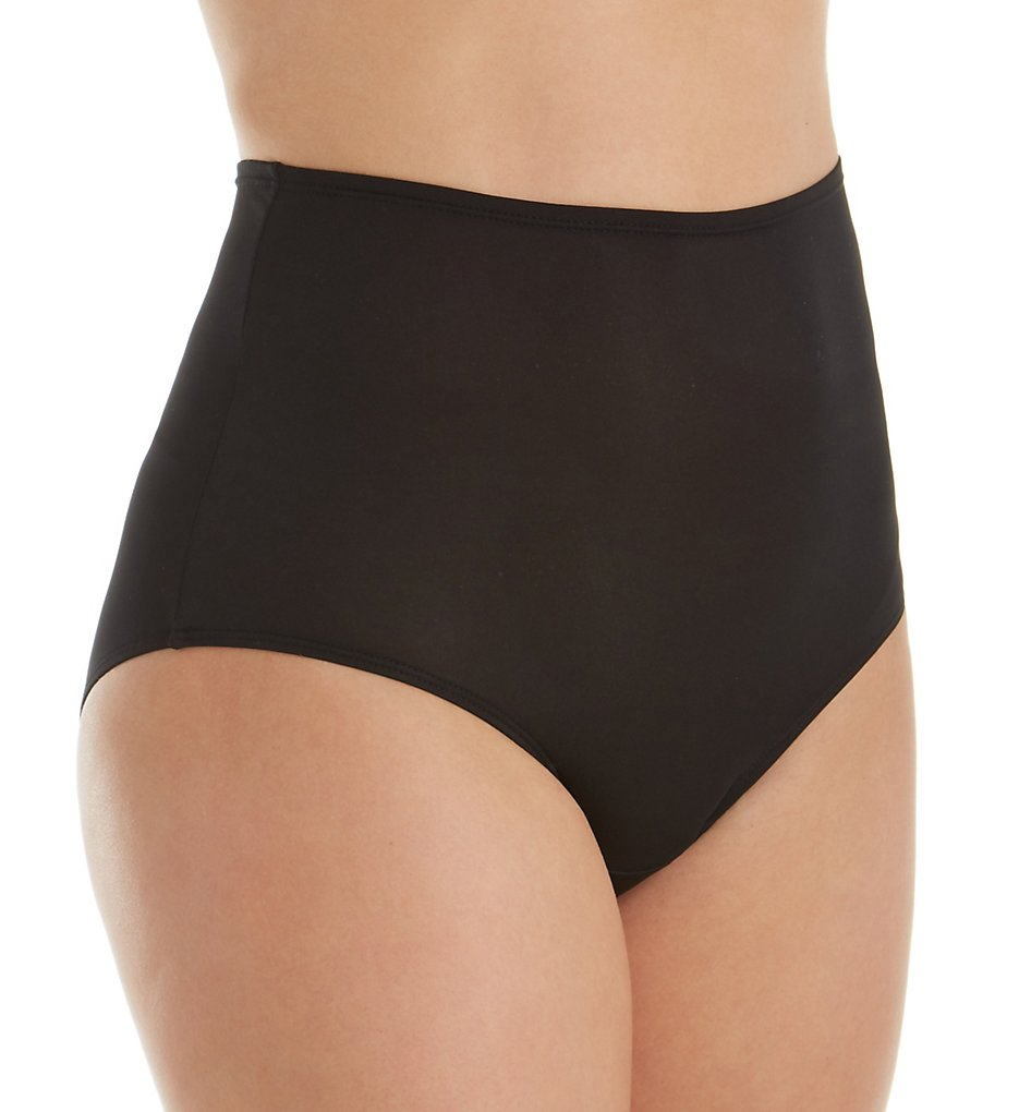 Olga - Olga 23173 Without A Stitch Micro Brief Panty (Black 9)