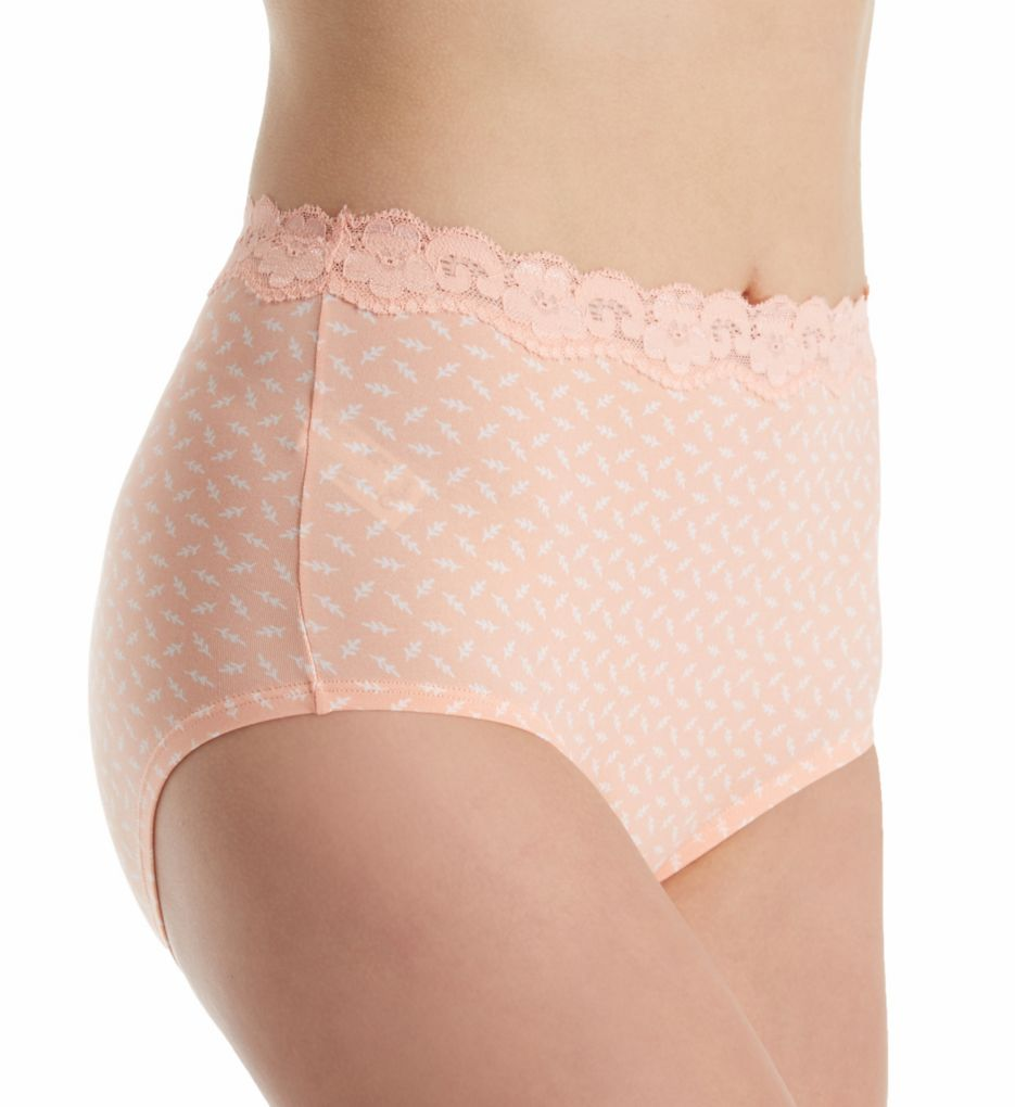Olga Without A Stitch Lace Brief Panty - 3 Pack