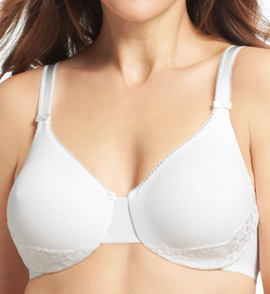 Olga >> Olga 35063 Luxury Lift Underwire Bra (White 36C)