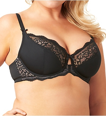 Olga Flirty Lace Multi Part Cup Underwire Bra