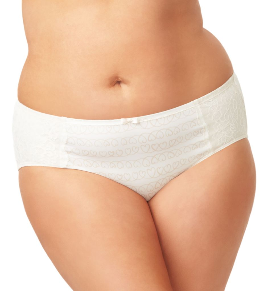 Olga Flirty Lace Hipster Panty