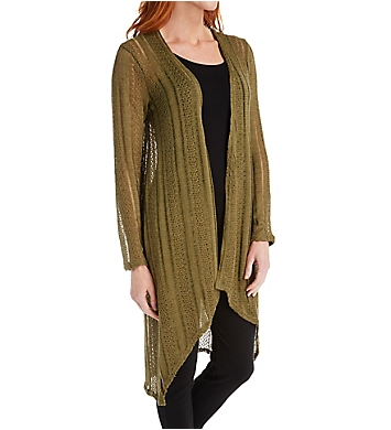 O'Neill Tilda Long Textured Cardigan Sweater