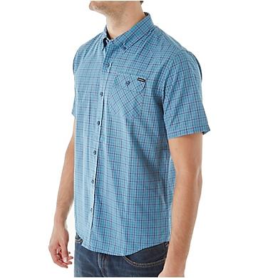 O'Neill Emporium Check Short Sleeve Woven Shirt