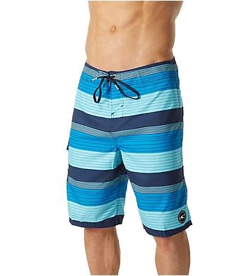 O'Neill Santa Cruz Stripe Quick Dry 21 Inch Boardshort