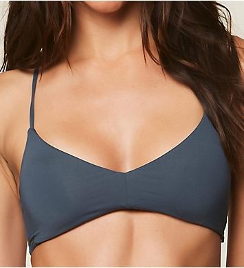 O'Neill Salt Water Solids Cross Back Bikini Swim Top