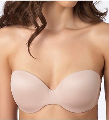 OnGossamer Mesh Strapless Push-Up Bra