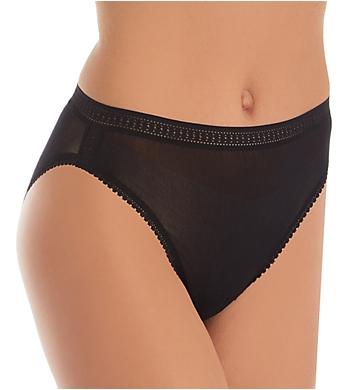 OnGossamer Mesh Hi Cut Brief Panties - 3 Pack