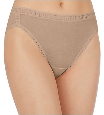 OnGossamer Mesh Hi Cut Brief Panties - 3 Pack