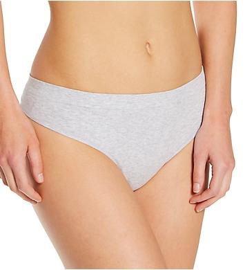 OnGossamer Cabana Cotton Seamless Thong Panty - 3 Pack