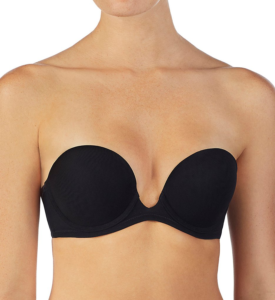 OnGossamer - OnGossamer G3150 Next to Nothing Plunge Strapless Bra (Black 32C)