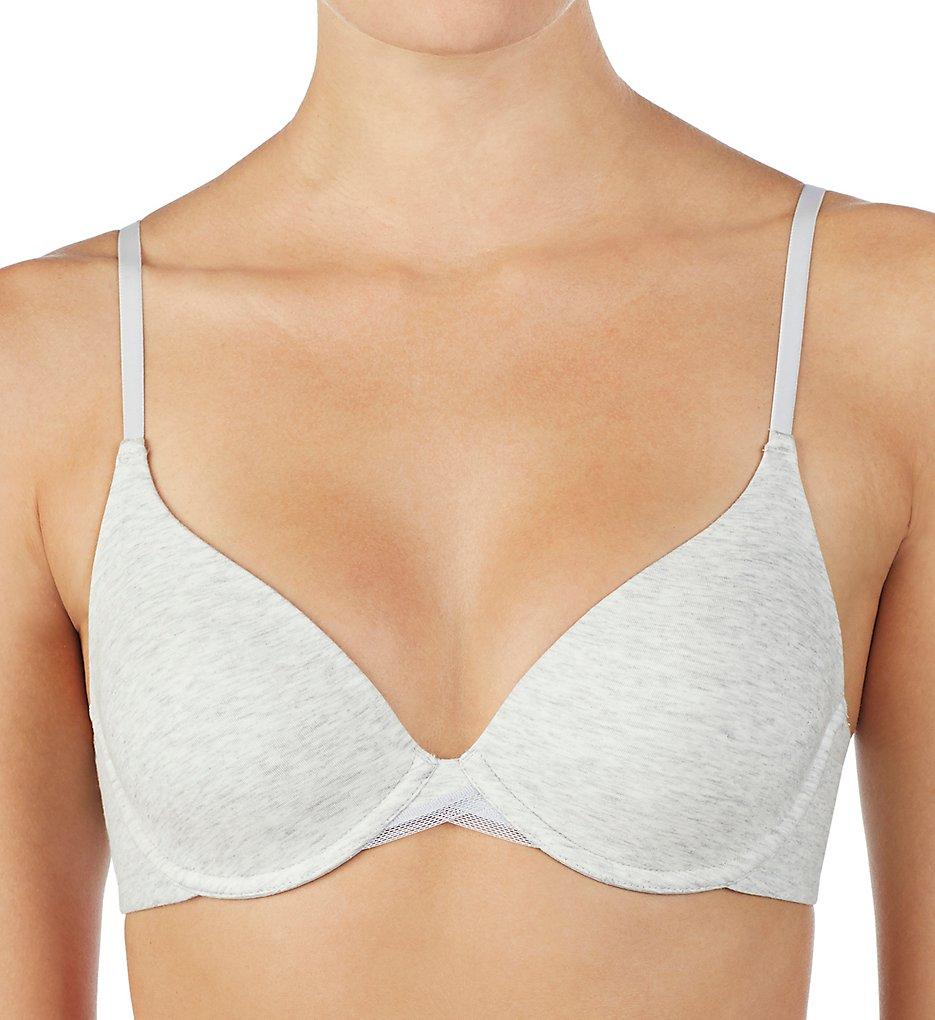 OnGossamer >> OnGossamer G3194 Cabana Cotton T-Shirt Bra (Heather Grey 32A)