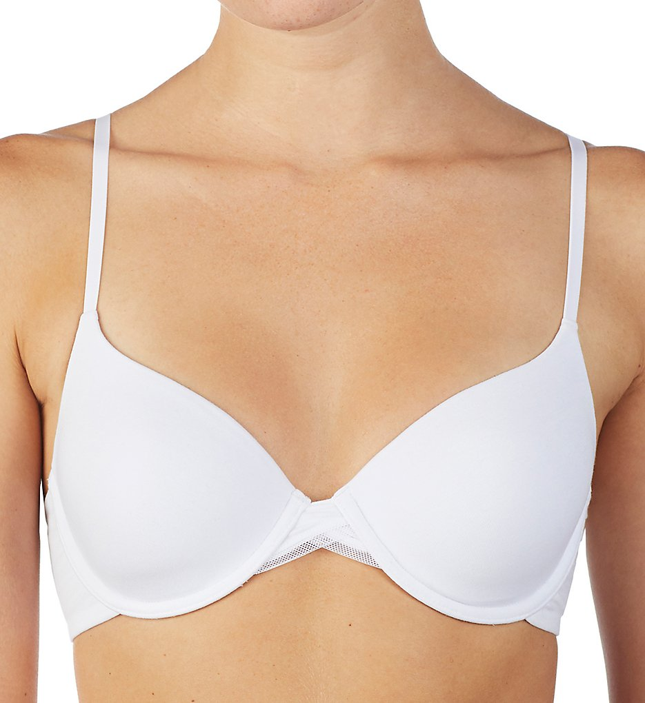 OnGossamer G3194 Cabana Cotton T-Shirt Bra (White)