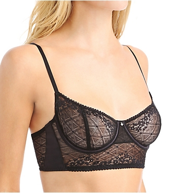 OnGossamer Beautifully Basic Lace Balconette Bra