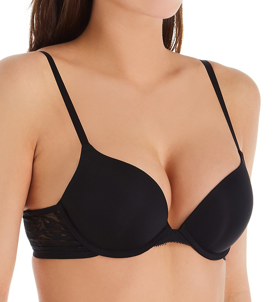 OnGossamer - OnGossamer G9200 Sleek Micro Push Up Bra (Black 32A)