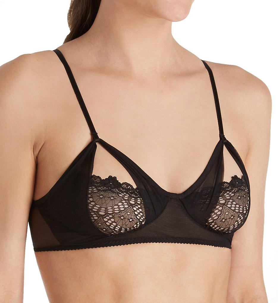 Only Hearts - Only Hearts 1547 Whisper Sweet Nothing Coucou Bra (Black S)