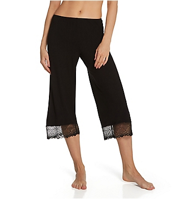 Only Hearts Venice Cropped Pants with Lace Hem