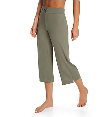 Only Hearts Organic Cotton Cropped Drawstring Pants