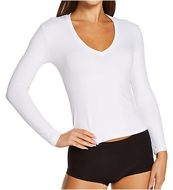 Only Hearts Delicious Vneck Long Sleeve Top
