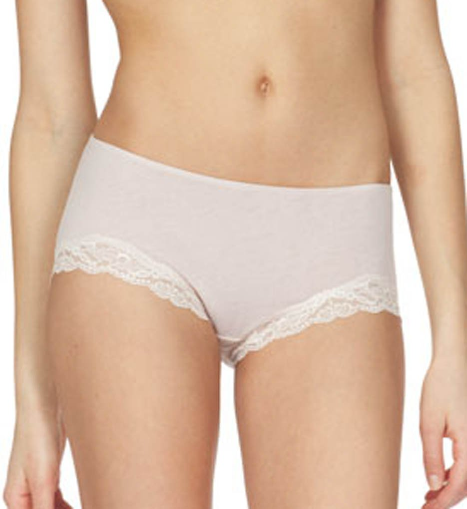 Only Hearts >> Only Hearts 50840 Organic Cotton Hipster Panty (Bone S)