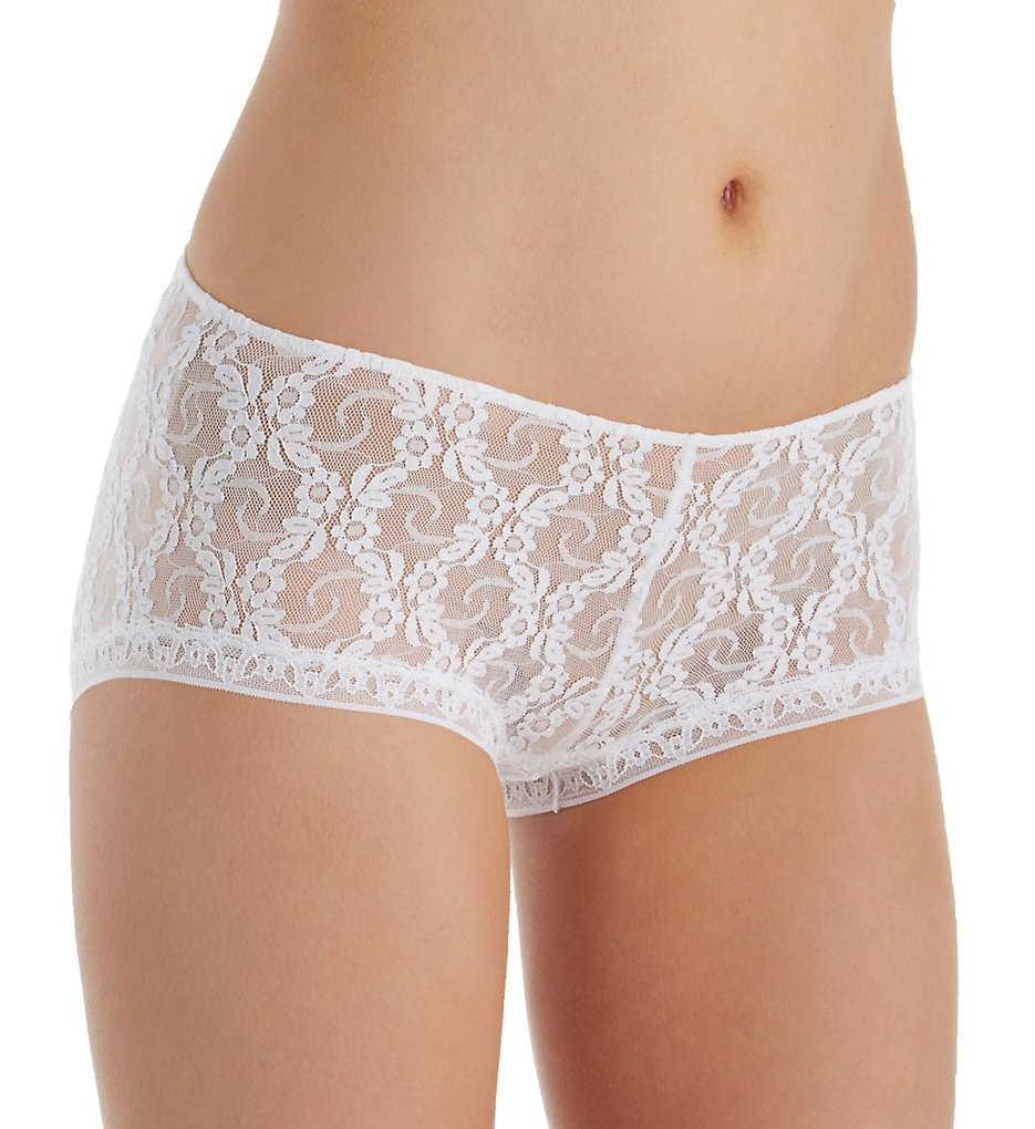 Only Hearts >> Only Hearts 50847 Ruched Back Hipster Panty (White S)