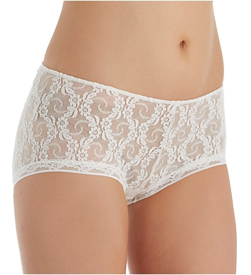 Only Hearts Stretch Lace Ruched Back Hipster Panty