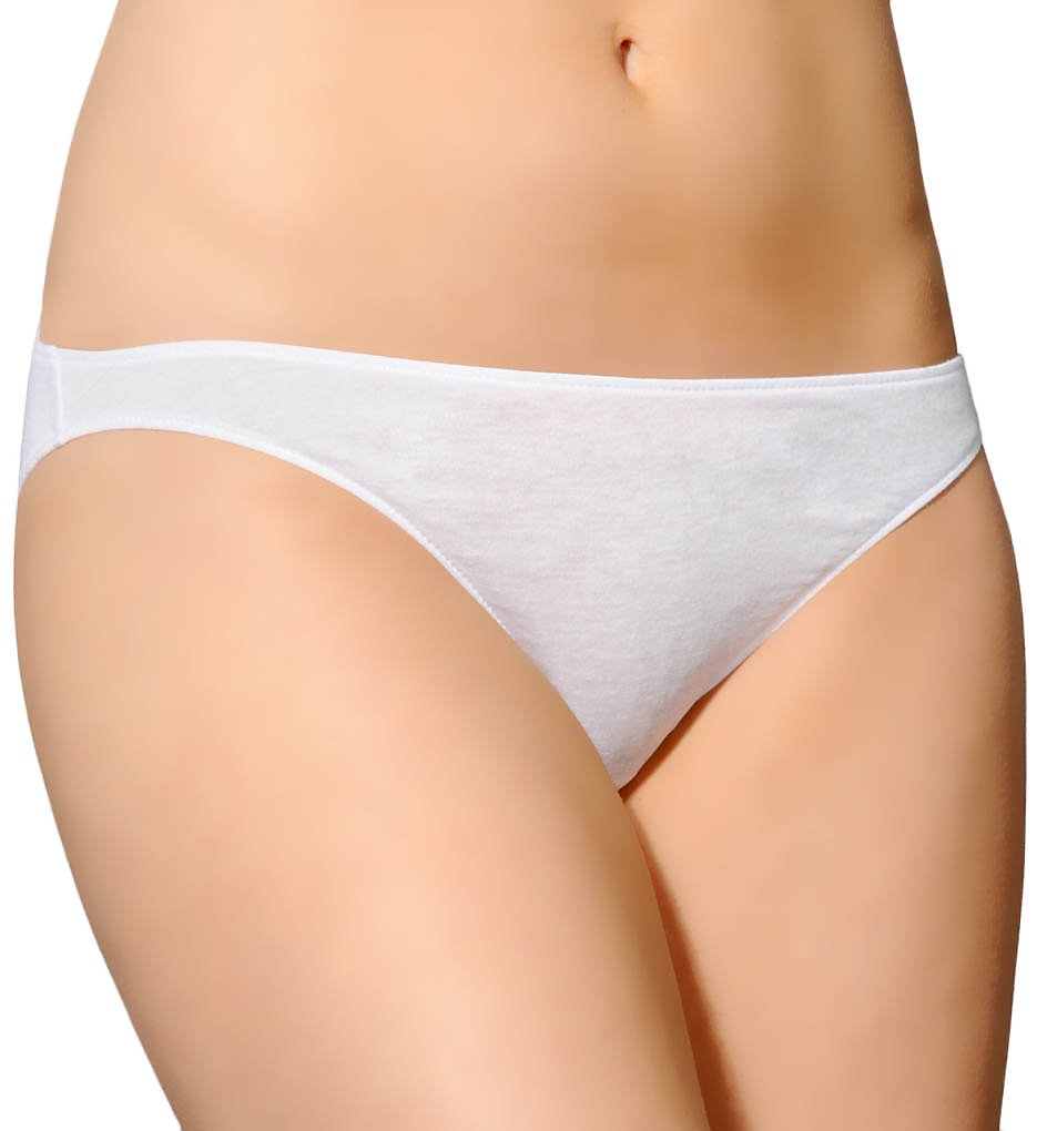Only Hearts >> Only Hearts 50848 Organic Cotton Bikini Panty (White S)
