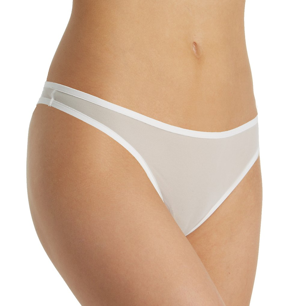 Only Hearts >> Only Hearts 50899 Whisper Thong (White S)