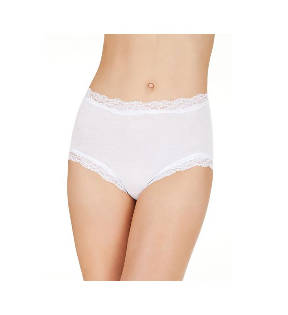Only Hearts - Only Hearts 50973 Organic Cotton Brief Panty (White S)