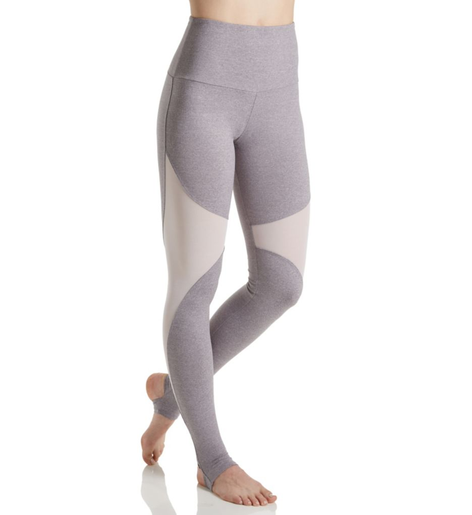 Onzie High Rise Mesh Insert Stirrup Legging
