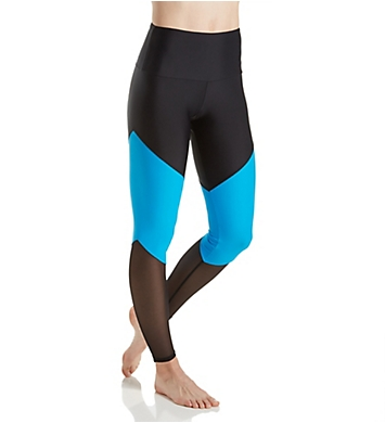 Onzie Color Block High Rise Track Legging
