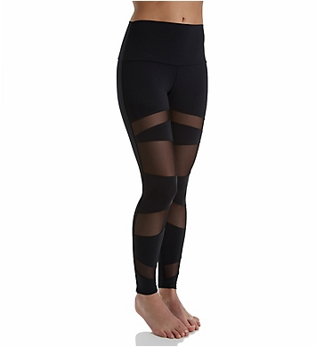 Onzie High Rise Bondage Mesh Panel Long Legging