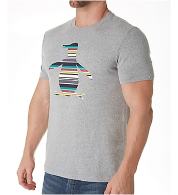 Original Penguin Striped Penguin Logo T-Shirt