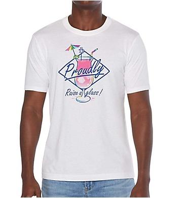 Original Penguin Pride Raise Your Glass Graphic T-Shirt