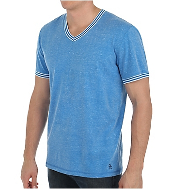 Original Penguin Core Basic Short Sleeve V-Neck Jersey T-Shirt