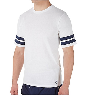 Original Penguin Double Stripe Crew Neck T-Shirt