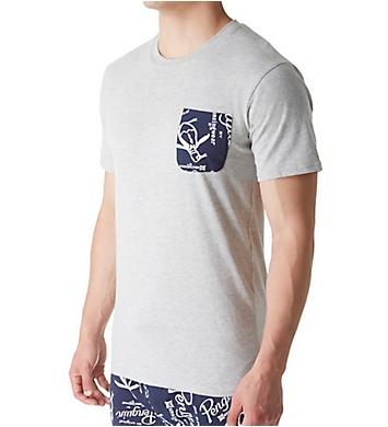 Original Penguin Logo Pocket Short Sleeve Crew Neck T-Shirt