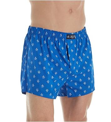 Original Penguin Cotton Woven Fashion Boxers - 3 Pack