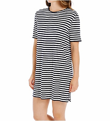 P-Jamas Marina Short Sleeve Gown