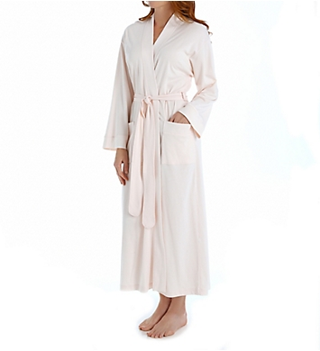 P-Jamas Butterknits Long Wrap Robe