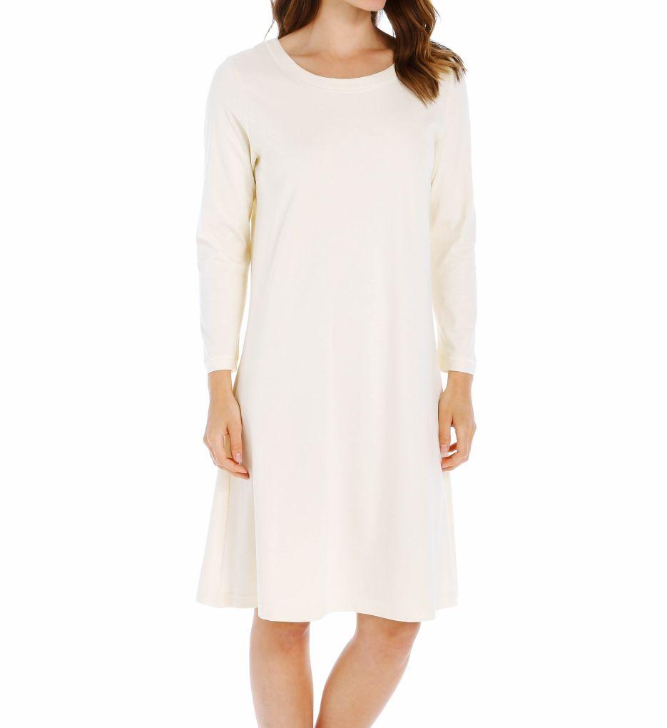 P-Jamas Butterknits Long Sleeve Gown