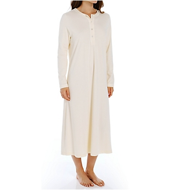 P-Jamas 48 Inch Henley Long Gown