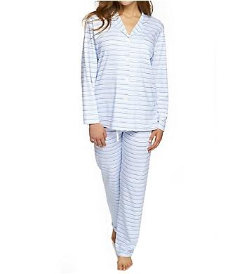 P-Jamas Our Favorite Pajamas Classic Stripe PJ Set