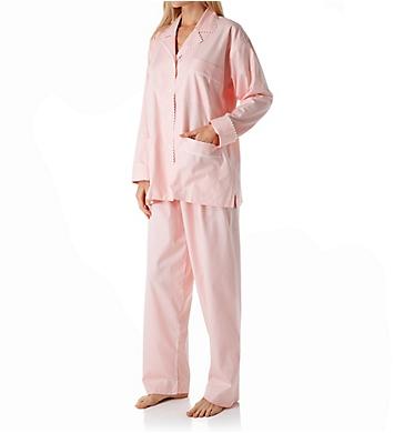 P-Jamas Summer Tattersall Pajama Set