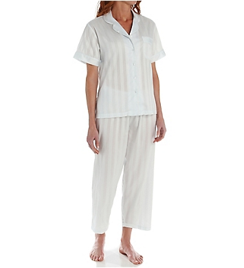 P-Jamas Tina's Short Sleeve Pajama Set