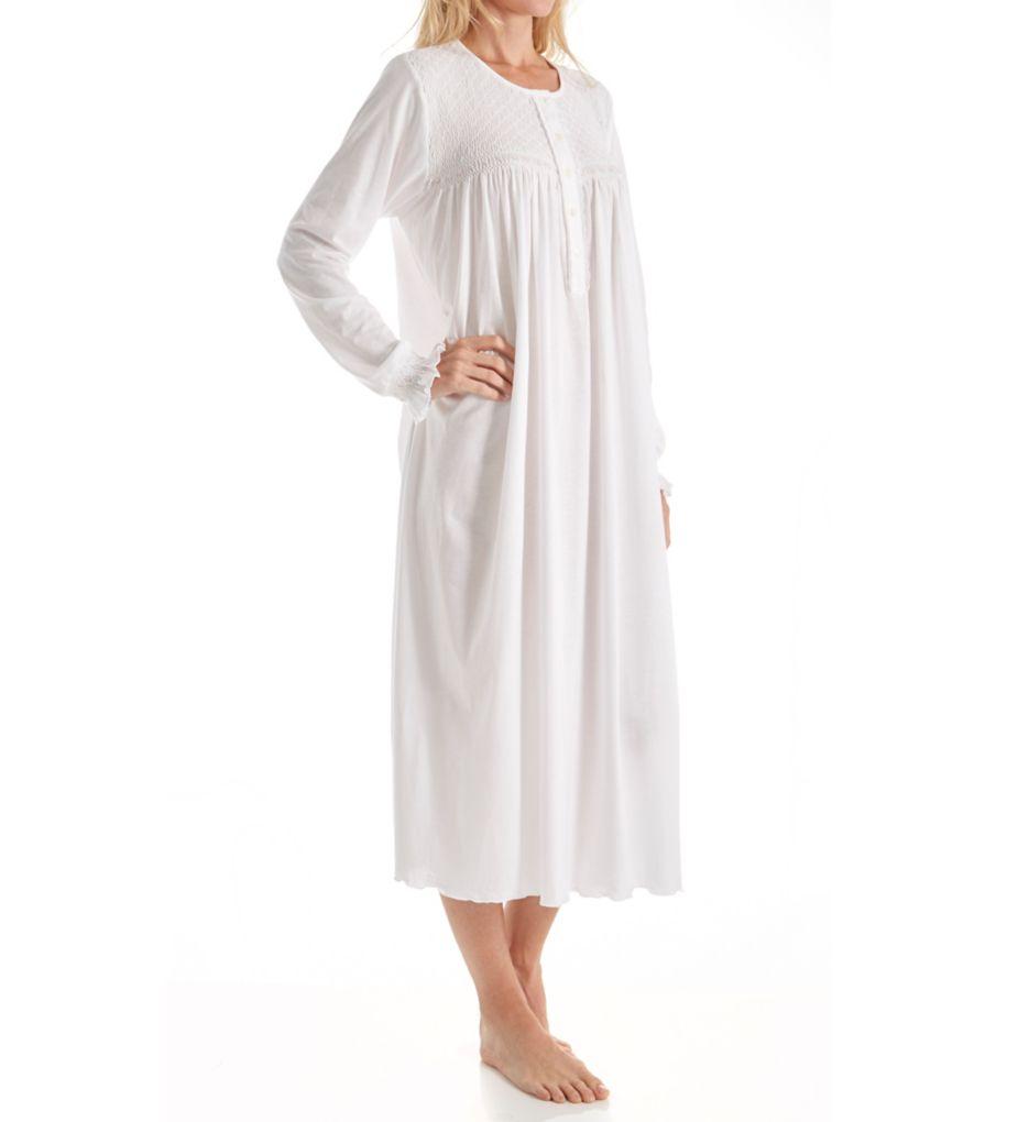 P-Jamas Heirlooms Long Sleeve Gown
