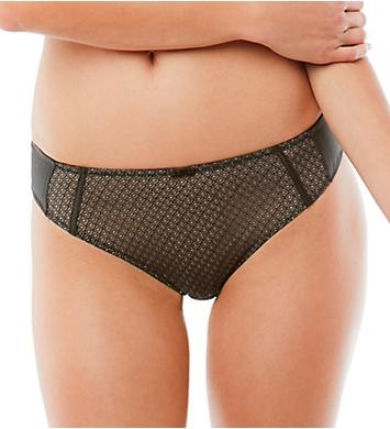 Panache Black Label Ruby Brazilian Brief Panty