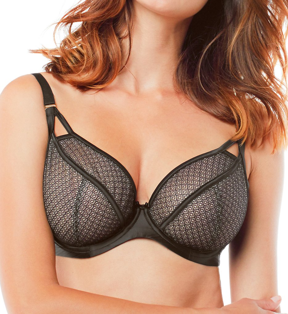 Panache >> Panache 9536 Black Label Ruby Plunge Bra (Black 30D)