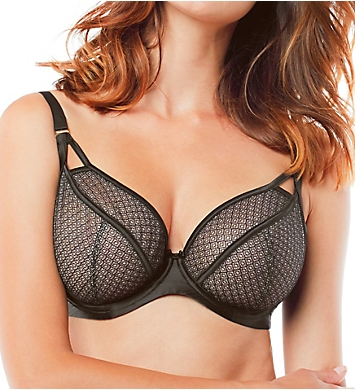 Panache Black Label Ruby Plunge Bra