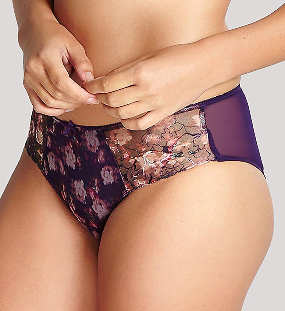 Panache - Panache 9982 Tiana Brief Panty (Purple Floral XS)