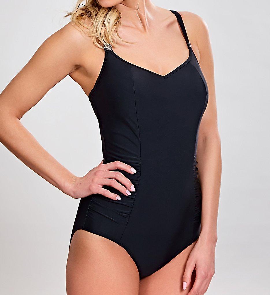 Panache SW0880 Anya One Piece Swimsuit (Black)